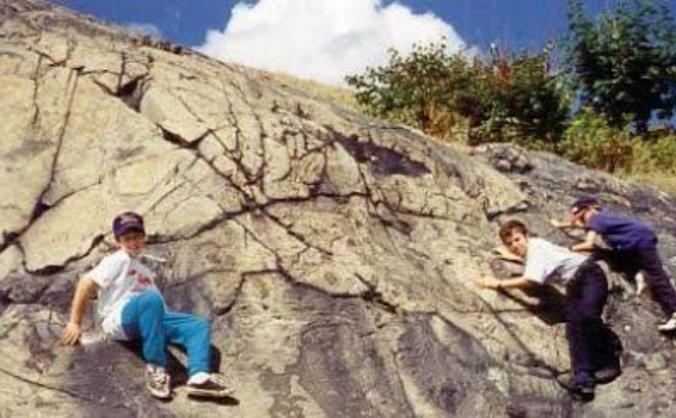 Teaching Climbing to Polish Kids