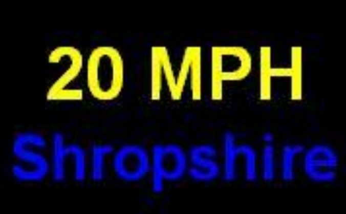 Benefits of a Shropshire-wide conference for 20mph