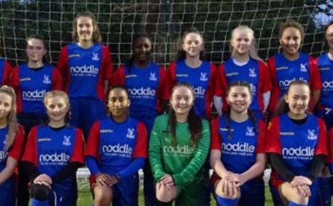 Help Crystal Palace Ladies FC U16 Academy Team
