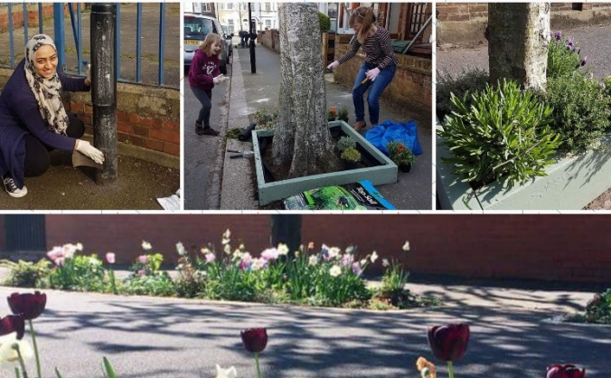 Wood Street South Gardening Club