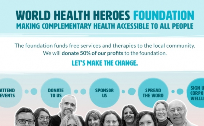 Make The World Health Heroes Foundation Happen