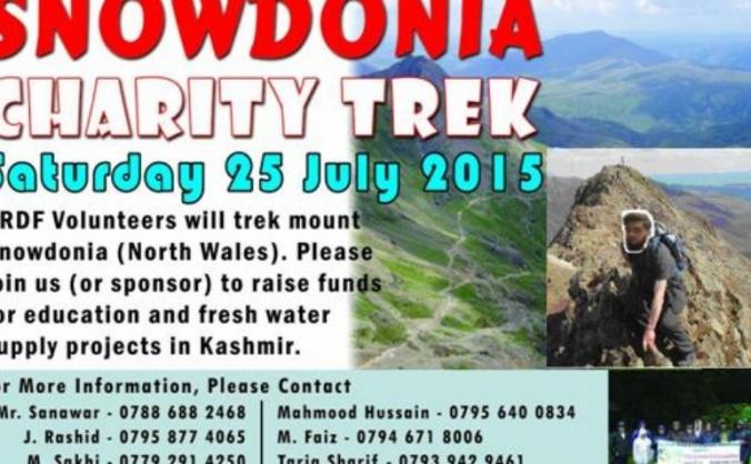Snowdonia Charity Trek - KRDF