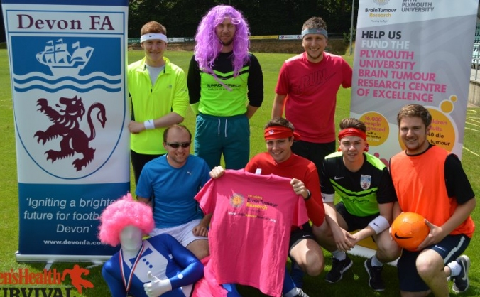 Devon FA supporting Brain Tumour Research Charity