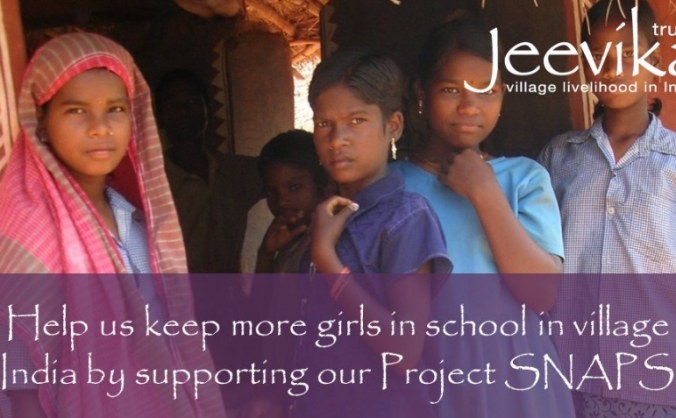 Project SNAPS : Help girls in India stay in school