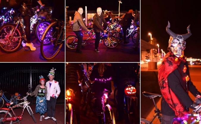 Pier  to Eternity Iluminated bike rides