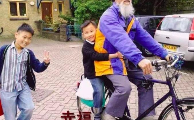 A New Bicycle for Mr Ni-San