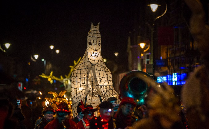 Penrith Lantern for Winter Droving