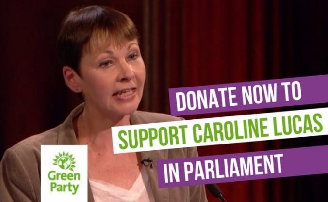 Help support Caroline Lucas in Parliament