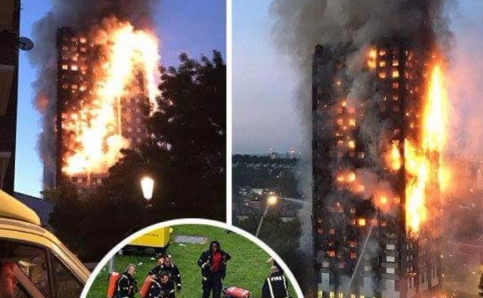 GRENFELL TOWER CHRIST EMBASSY DAGENHAM DONATION