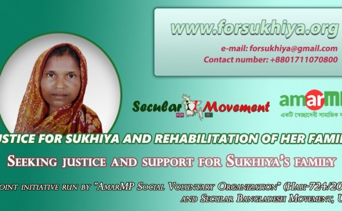 Seeking justice and support for Sukhiya's family