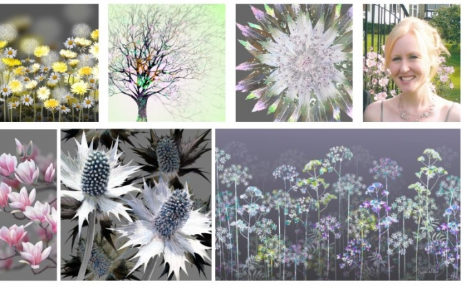 An Artistic Celebration of Flowers
