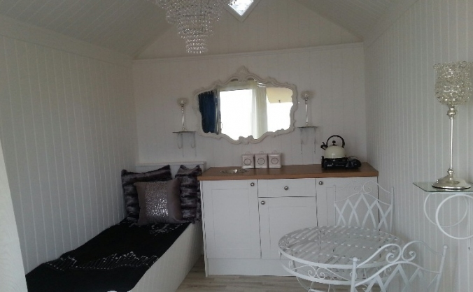 Bringing Luxury to your day in a  Beach Hut