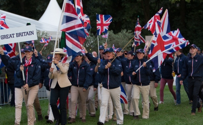 British Pony Driving Team - World Championship