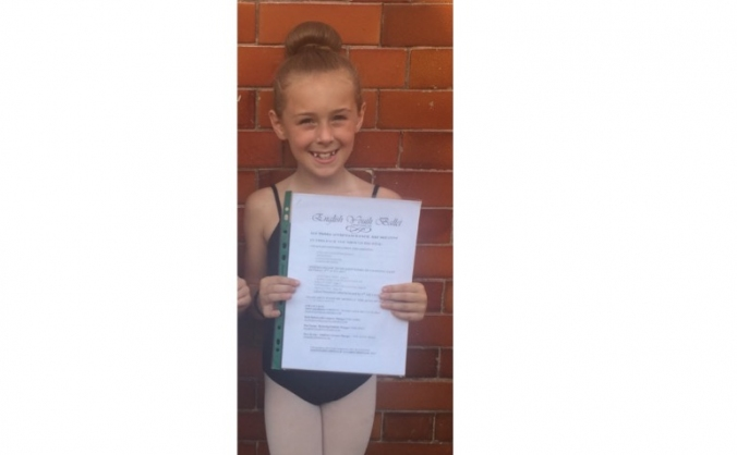 Ella's English Youth Ballet Experience