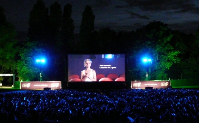 Fright Night Cinema in the Woods
