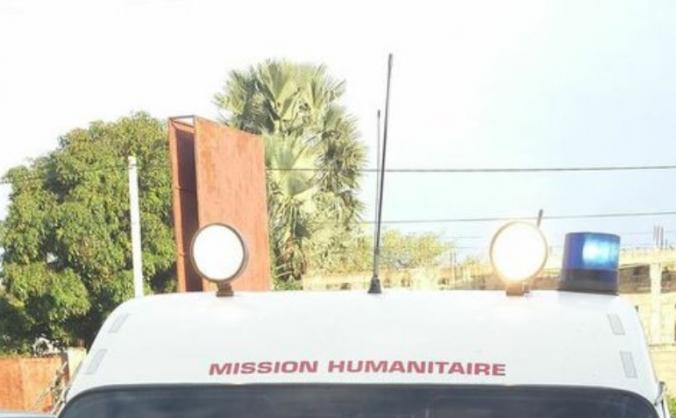 Aid2Gambia Ambulance Run