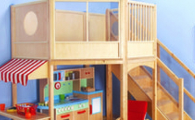 Space lofts at Robert Owen Nursery School