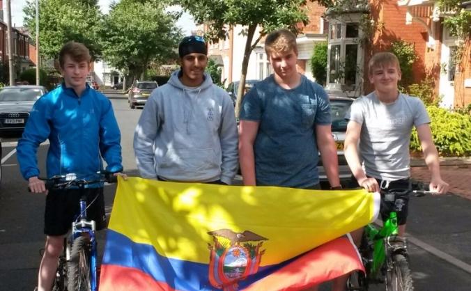Camp Ecuador Expedition 2016 Bike Ride