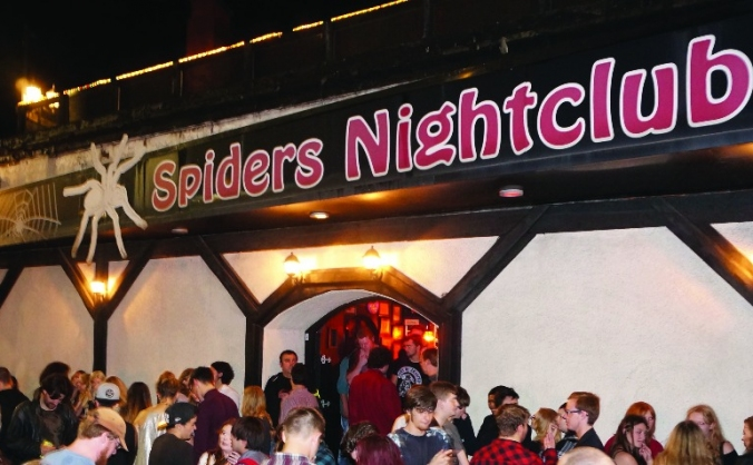 Spiders Nightclub Book