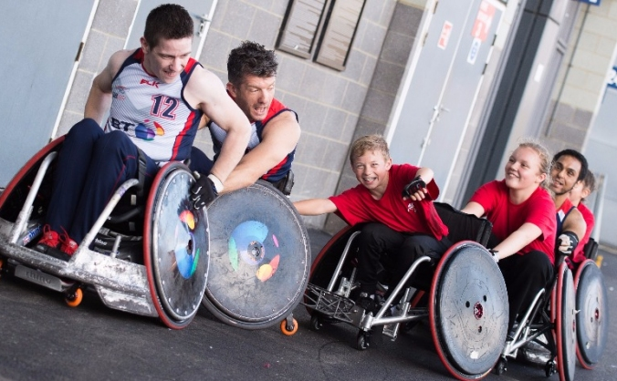 Community Wheelchair Rugby