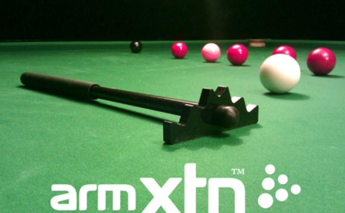 Snooker Gadget Invention… ArmXTN Snooker Aid