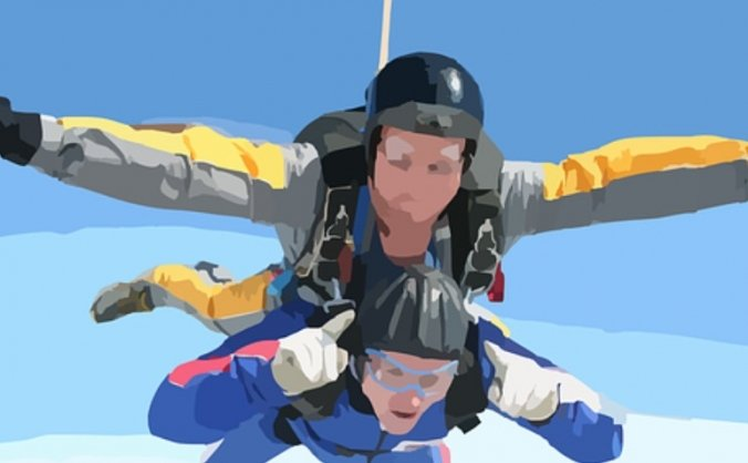 Friends of Potters Gate Skydive