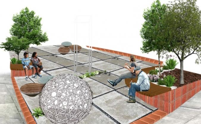 Southwark Peace Garden