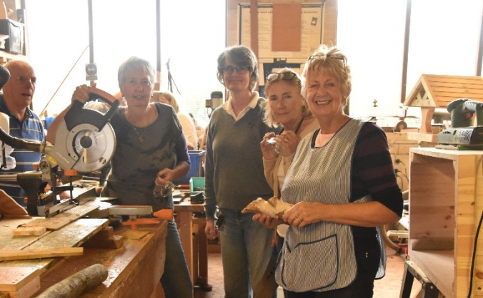 Age UK Cheshire's Women in Sheds