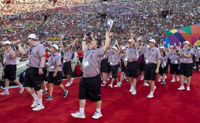 Special Olympics GB Games Opening Ceremony
