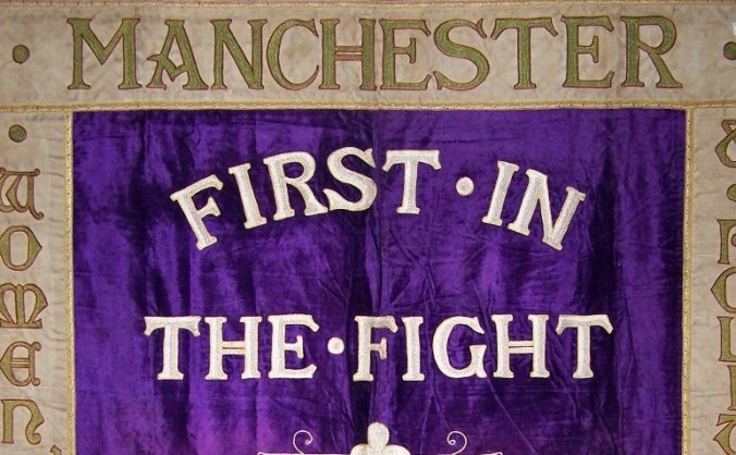Bring Manchester's Suffragette Banner Home