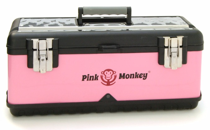 The Pink Monkey Tool box