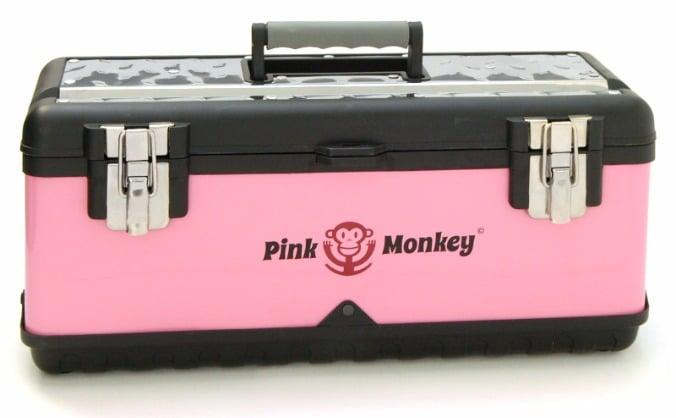 The Pink Monkey Tool box