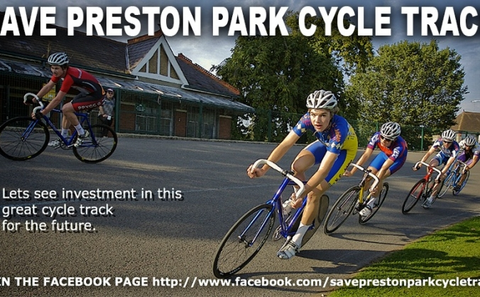 SAVE PRESTON PARK CYCLE TRACK CAMPAIGN
