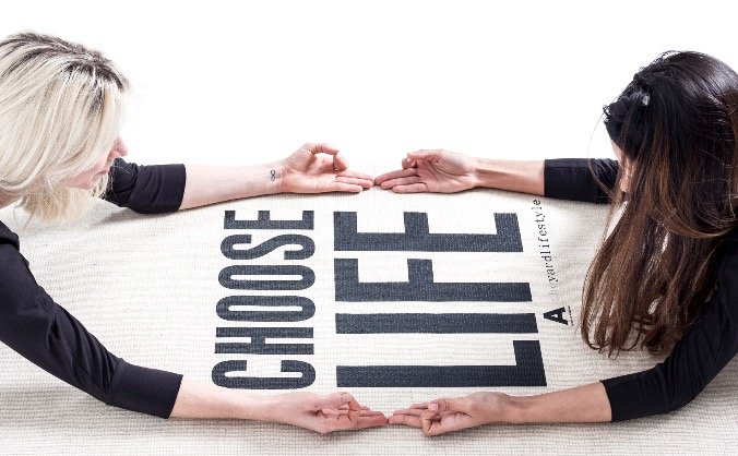 The CHOOSE LIFE Mat Project