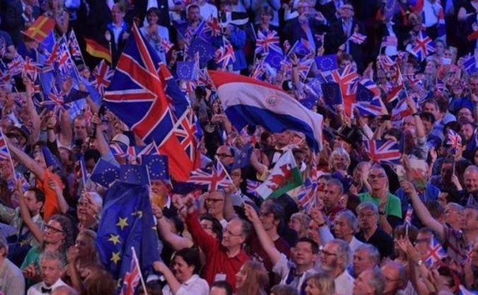 BBC Last Night Proms 2017 - Flags