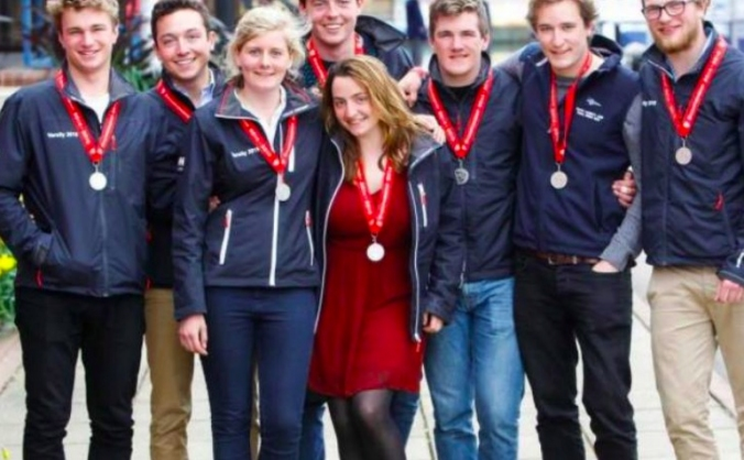 Oxford at the Student World Sailing Championships