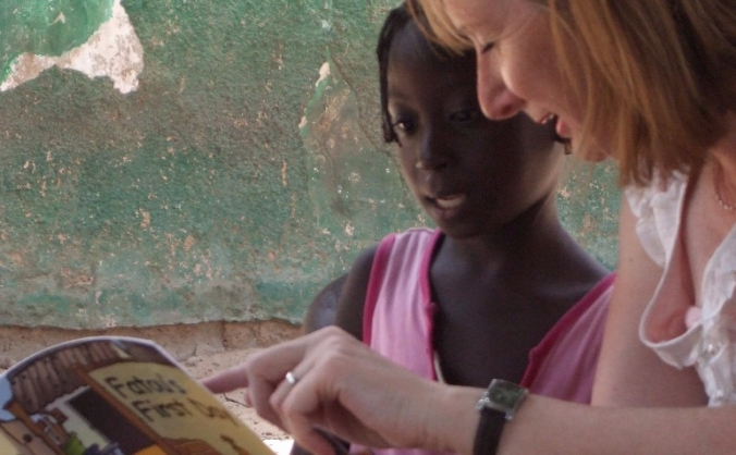 Baobab Reading Scheme help Gambian children read