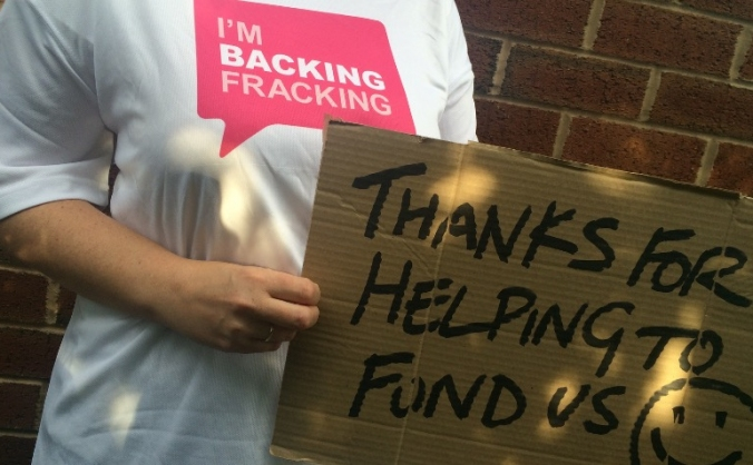 BackingFracking launch