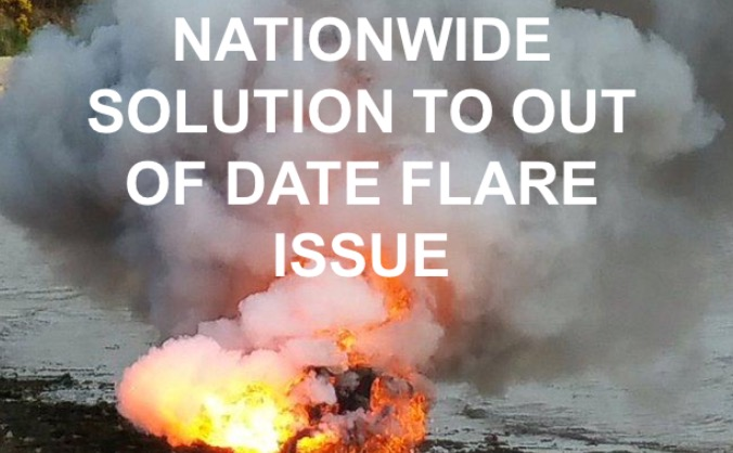UK Wide Marine Distress Flare Disposal Service