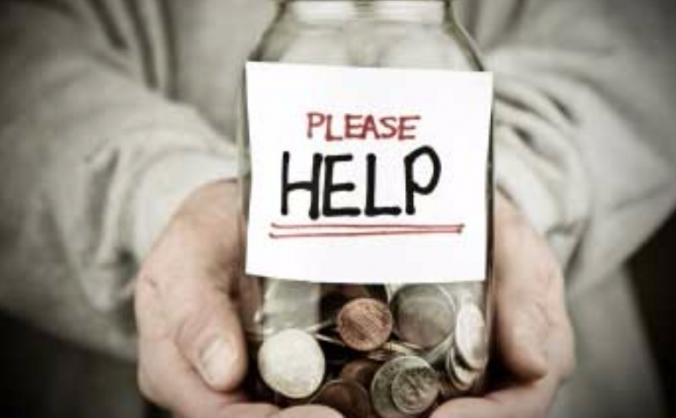 Raising money for our neighbour