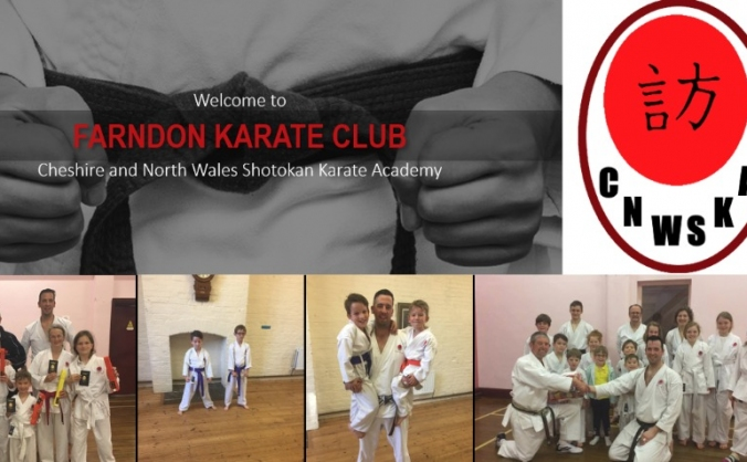 Farndon Karate Club - Equipment Needed!