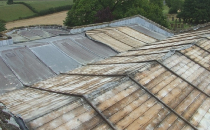 Historic church appeals for help after roof theft