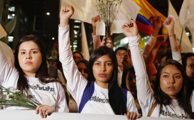 Running 10K for Colombian women to cross borders