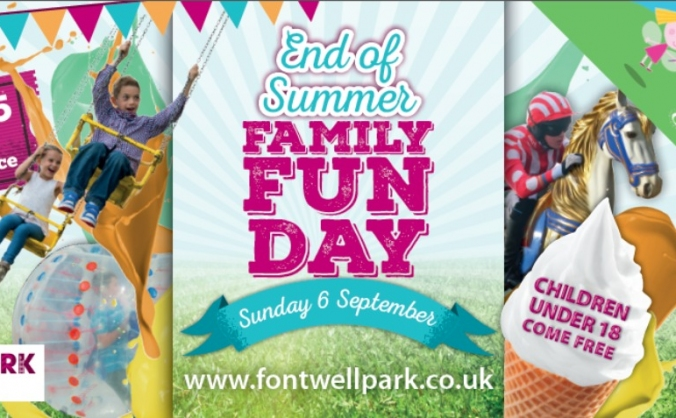 MS Society Family Funday at Fontwell Racecourse