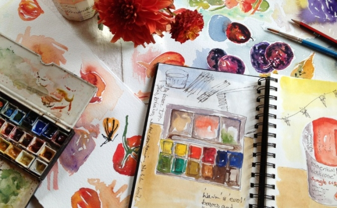 Maggie's Pop-Up Sketchbook Workshops
