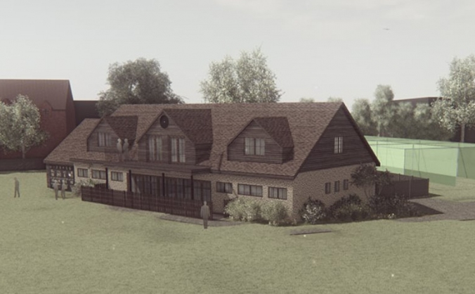 NEW clubhouse for Thame Cricket & Hockey Club
