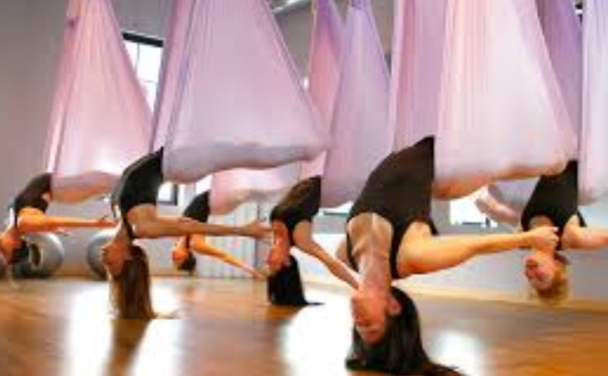 Ariel exercise classes to empower our community.