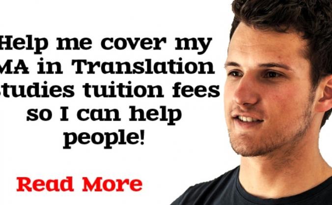 Help me get my Masters in Translation Studies