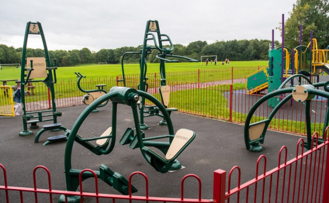 Lymm Outdoor Gym