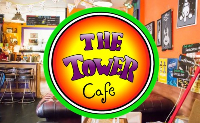 The tower cafe fundraiser